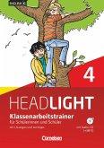 English G Headlight 04: 8. Schuljahr. Klassenarbeitstrainer mit Lösungen und Audios online