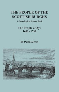 The People of the Scottish Burghs