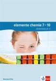 Elemente Chemie. Arbeitsbuch 2. Lernjahr (Klasse 8 oder 9). Ausgabe für Rheinland-Pfalz