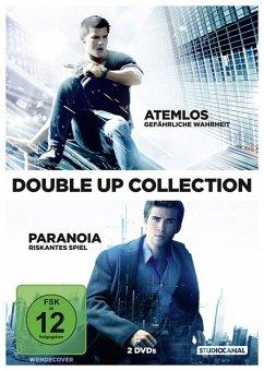 Atemlos - Gefährliche Wahrheit / Paranoia - Riskantes Spiel Double Up Collection - Hemsworth,Liam/Lautner,Taylor