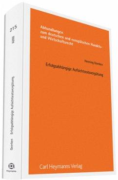 Erfolgsabhängige Aufsichtsratsvergütung - Geerken, Henning