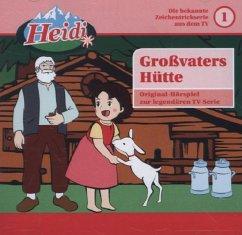 Großvaters Hütte / Heidi Bd.1 (1 Audio-CD)