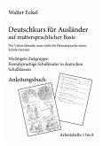 Deutschkurs für Ausländer auf muttersprachlicher Basis - Anleitungsbuch (eBook, ePUB)