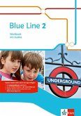 Blue Line 2. Workbook mit Audio-CD