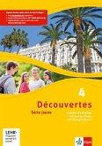 Découvertes Série jaune 4. Cahier d'activités mit MP3-CD, Video-DVD und Übungssoftware