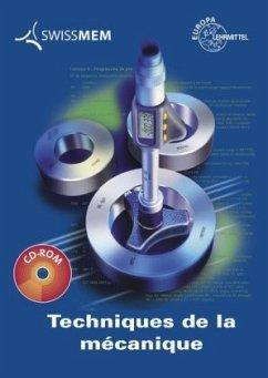 Techniques de la mécanique, m. CD-ROM