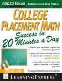 College Placement Math Success in 20 Minutes a Day (eBook, ePUB)