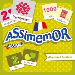 Assimemor, Aliments & Nombres (Kinderspiel)