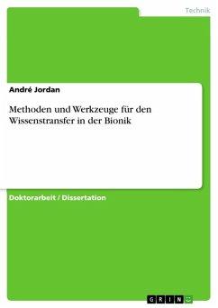 Methoden und Werkzeuge für den Wissenstransfer in der Bionik (eBook, ePUB)