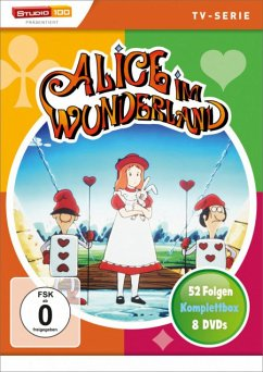 Alice im Wunderland Komplettbox, Staffel 1-4 DVD-Box