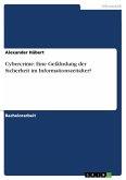 Cybercrime: Eine Gefährdung der Sicherheit im Informationszeitalter? (eBook, ePUB)