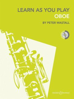 Learn as you Play Oboe, w. Audio-CD - Wastall, Peter