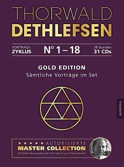 Gold Edition - Sämtliche Vorträge im Set, 31 Audio-CDs - Dethlefsen, Thorwald