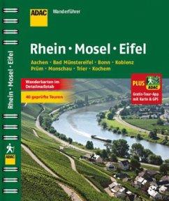 ADAC Wanderführer Rhein Mosel Eifel plus Gratis...