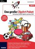 Das große ClipArt Paket 2015 - Die besten 50.000 ClipArts auf einer DVD!