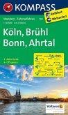 Kompass Karte Köln, Brühl, Bonn, Ahrtal