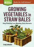 Growing Vegetables in Straw Bales