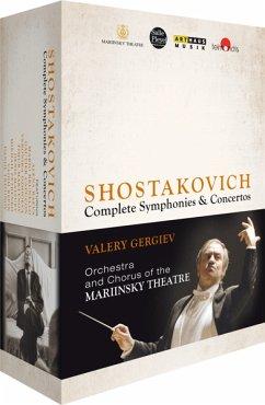 Schostakowitsch, Dimitri - Complete Symphonies & Concertos (8 Discs) - Gergiev,Valery/Mariinsky Orchestra & Chorus