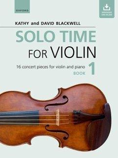 Solo Time for Violin Book 1 + CD
