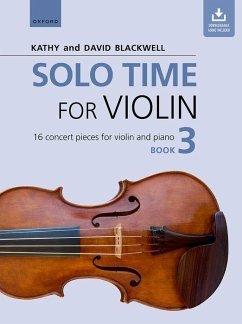 Solo Time for Violin Book 3 + CD