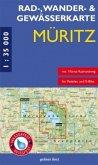 Rad-, Wander- & Gewässerkarte Müritz