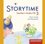 3. Jahrgangsstufe, 2 Teacher's Audio-CDs, 2 Audio-CD / Storytime, Ausgabe 2015