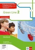 Green Line 2. Workbook mit Audio-CDs und Übungssoftware Klasse 6