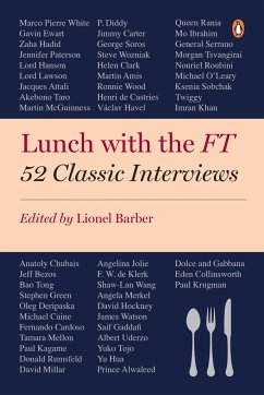 Lunch with the FT - Barber, Lionel