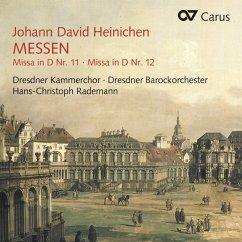 Messen 11 & 12 - Rademann/Dresdner Kammerchor/Dresdner Barockorches