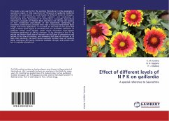 Effect of different levels of N P K on gaillardia