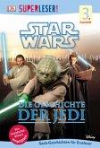 SUPERLESER! Star Wars(TM) Die Geschichte der Jedi / Superleser 3. Lesestufe Bd.1
