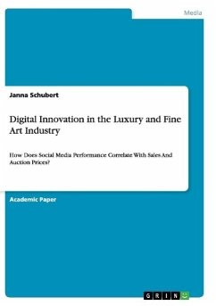 Digital Innovation in the Luxury and Fine Art Industry