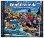 Fünf Freunde und der Delfin in der Felsenbucht / Fünf Freunde Bd.112 (1 Audio-CD)