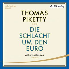 Die Schlacht um den Euro (MP3-Download) - Piketty, Thomas