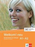 Welkom! Neu A1-A2 Übungsbuch + Audio-CD