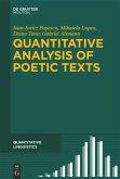 Quantitative Analysis of Poetic Texts
