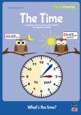 mindmemo Lernfolder - The Time - What's the time? - Die Uhrzeit auf Englisch lernen