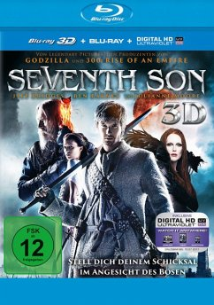 Seventh Son (Blu-ray 3D, + Blu-ray 2D) - Jeff Bridges,Julianne Moore,Ben Barnes