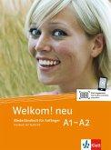 Welkom! Neu A1-A2 Kursbuch + Audio-CD