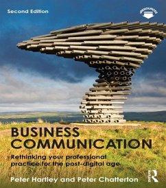 Business Communication (eBook, PDF) - Hartley, Peter; Chatterton, Peter