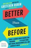 Better Than Before (eBook, ePUB)