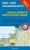 Rad- und Wanderkarte Graal-Müritz, Rostocker Heide
