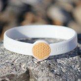 Armband Mindlet Blume des Lebens weiß