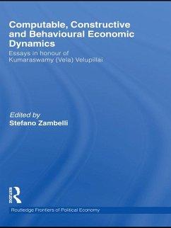 Computable, Constructive & Behavioural Economic Dynamics (eBook, ePUB)