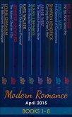 Modern Romance April 2015 Books 1-8 (eBook, ePUB)