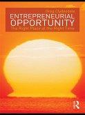 Entrepreneurial Opportunity (eBook, PDF)