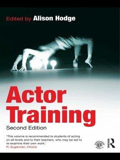 Actor Training (eBook, PDF) - Hodge, Alison