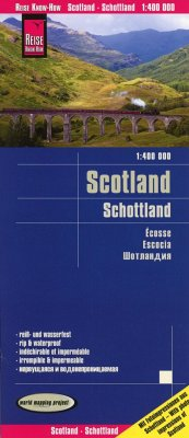 Reise Know-How Landkarte Schottland / Scotland (1:400.000)