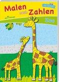 Malen nach Zahlen Zoo. Ab 7 Jahren