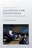 Allowing for Exceptions (eBook, ePUB)